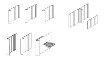Профили для изготовления табличек и наборных панно (CoSign)