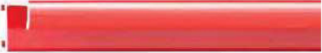 Профиль 201098, окрашенный, красный глянцевый для изготовления багетных рам