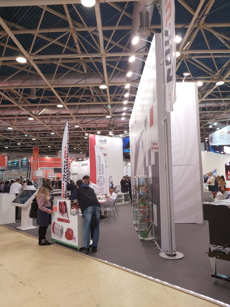 Московская выставка РЕКЛАМА 2019 - стенд ФОРДА с лучшими брендами